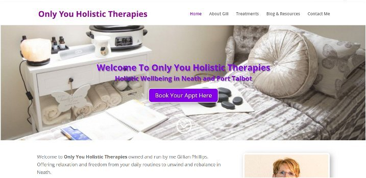 only you holistic therapies website 2020