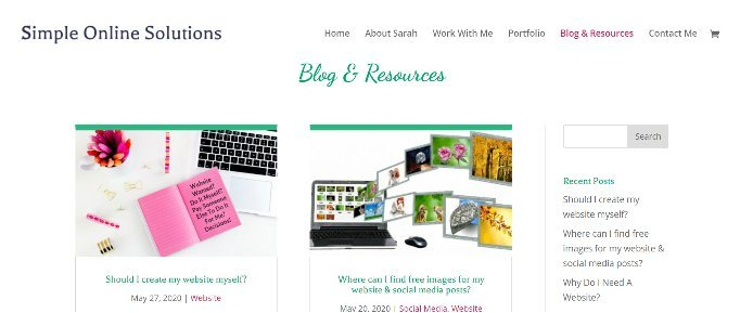 blogs & resources on simple online solutions