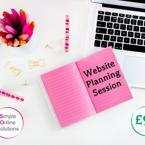 website planning session