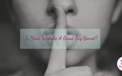 Is Your Website A Great Big Secret?